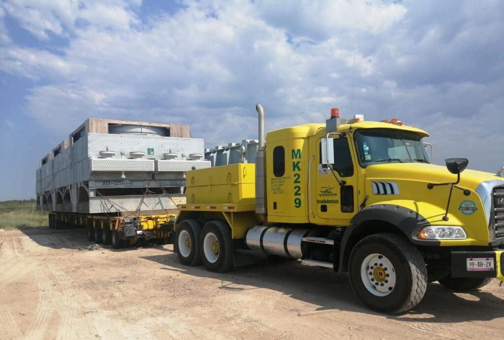 Tradelossa entregó 33 enfriadores para el proyecto energético mexicano ''Empalme'' México.