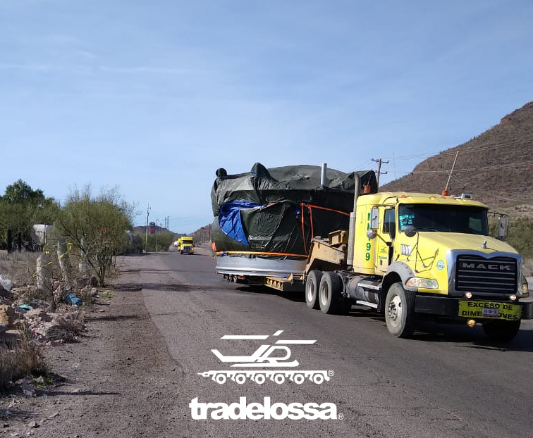 Hauling of Brewery components to Cd. Obregón, Sonora